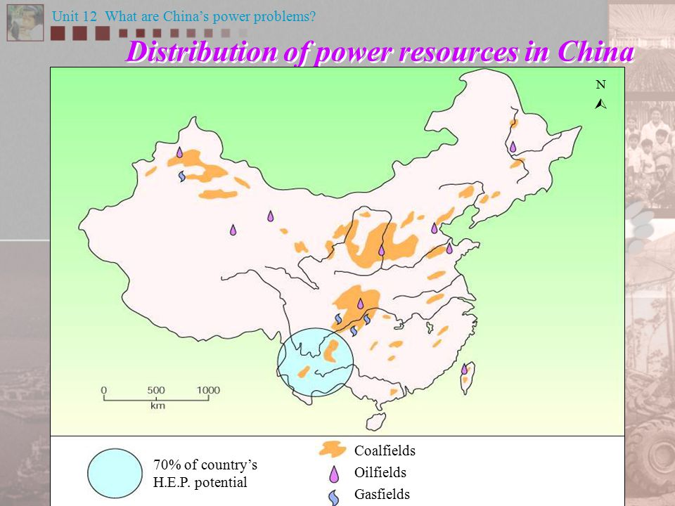 The Three Gorges Dam is located in the remote interior What are the problems caused by the uneven distribution of power resources in China.