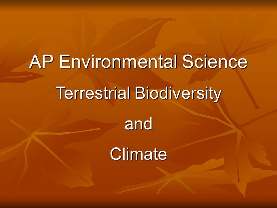 4.Grassland, Tundra and Chaparral Biomes © Brooks/Cole Publishing Company / ITP Fig.