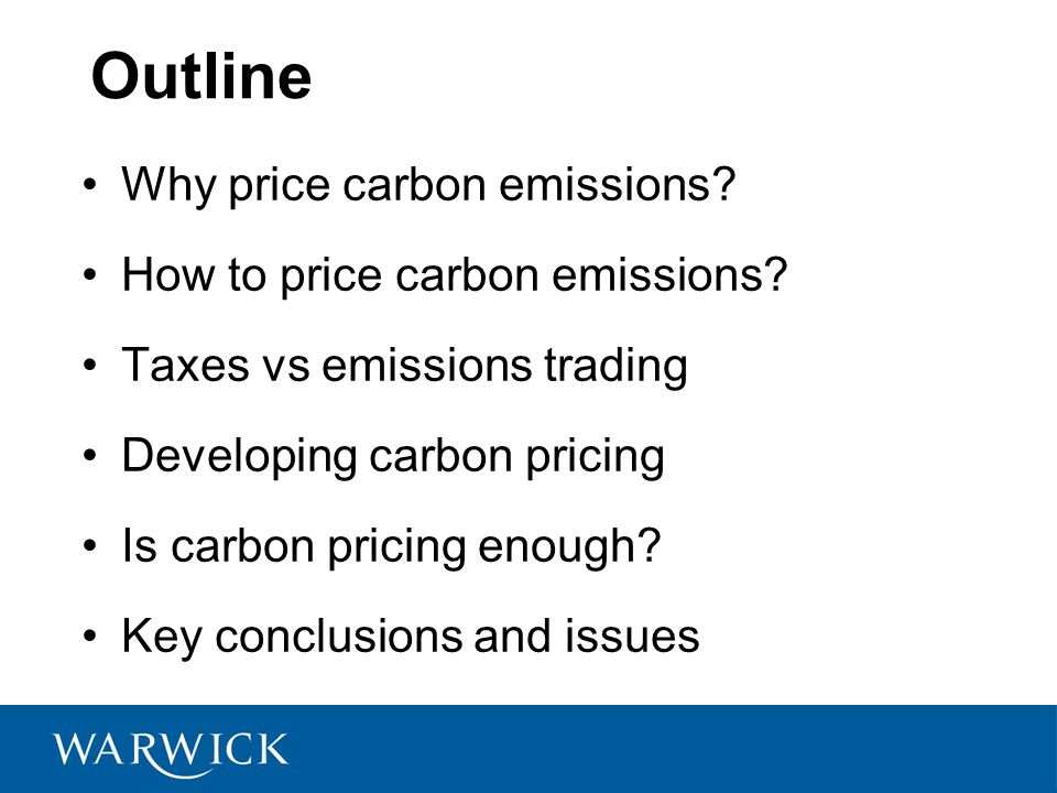 Technology: Is carbon pricing enough.