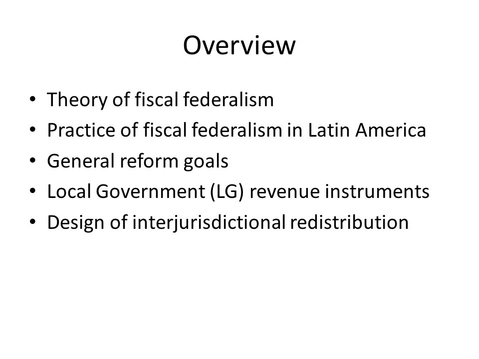 Revenues: Consumption Taxes VAT, sales taxes, destination-based excises – E.g., Brazil (ICMS), Colombia (alcohol, cigarettes, gasoline), Argentina (turnover) Advantages: – Low cyclicality relative to income taxes – Geographically dispersed – Destination basis generally avoids tax competition (except cross-border shopping) Disadvantages: – Subnational VAT complex, distortive – Sales taxes cascade, avoidable, narrow bases – Origin-based excises more efficient