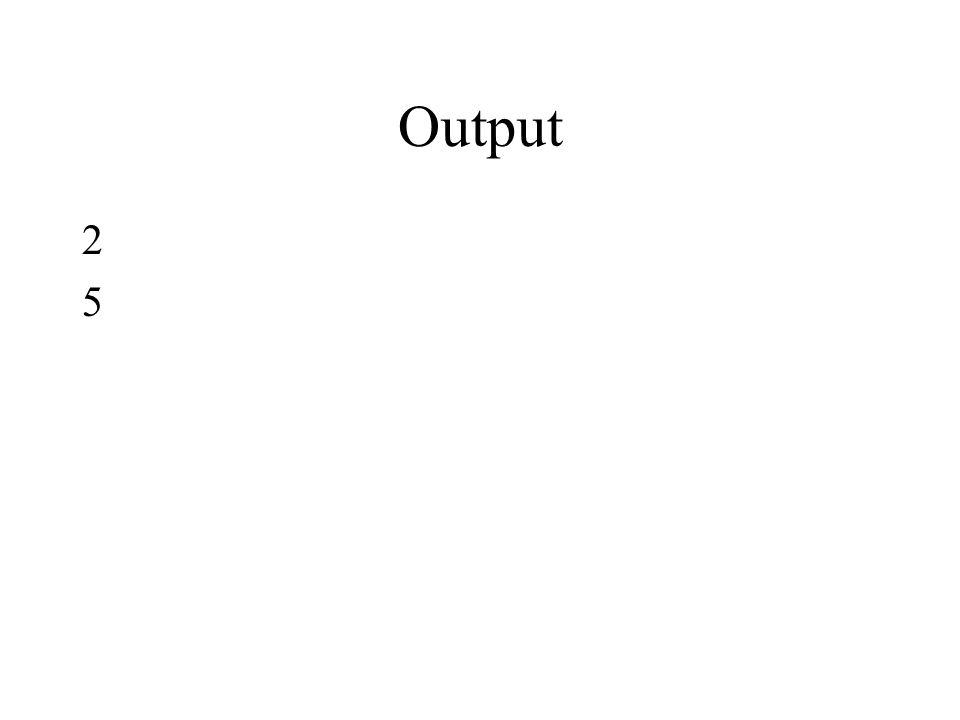 Output 2525