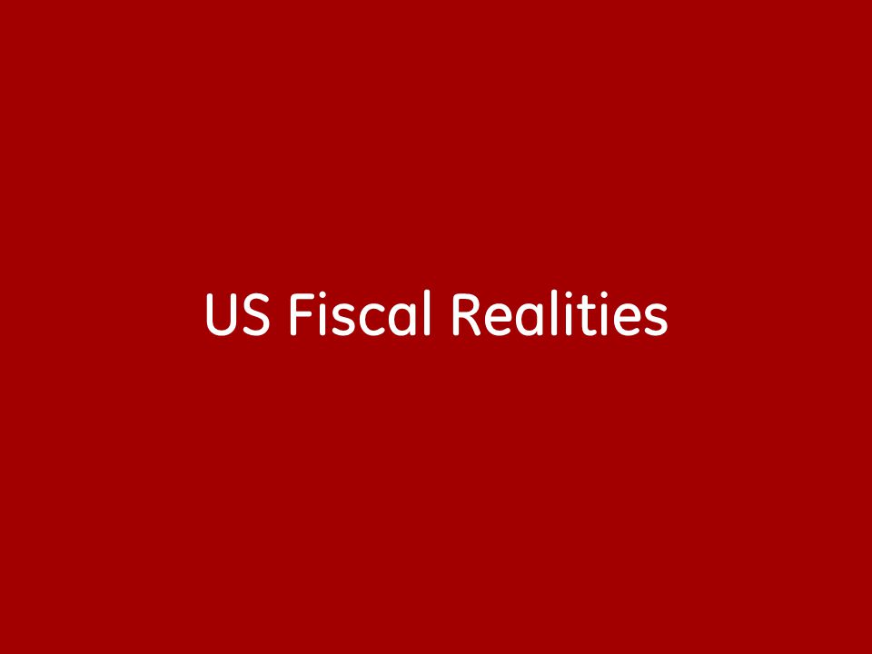 US Fiscal Realities