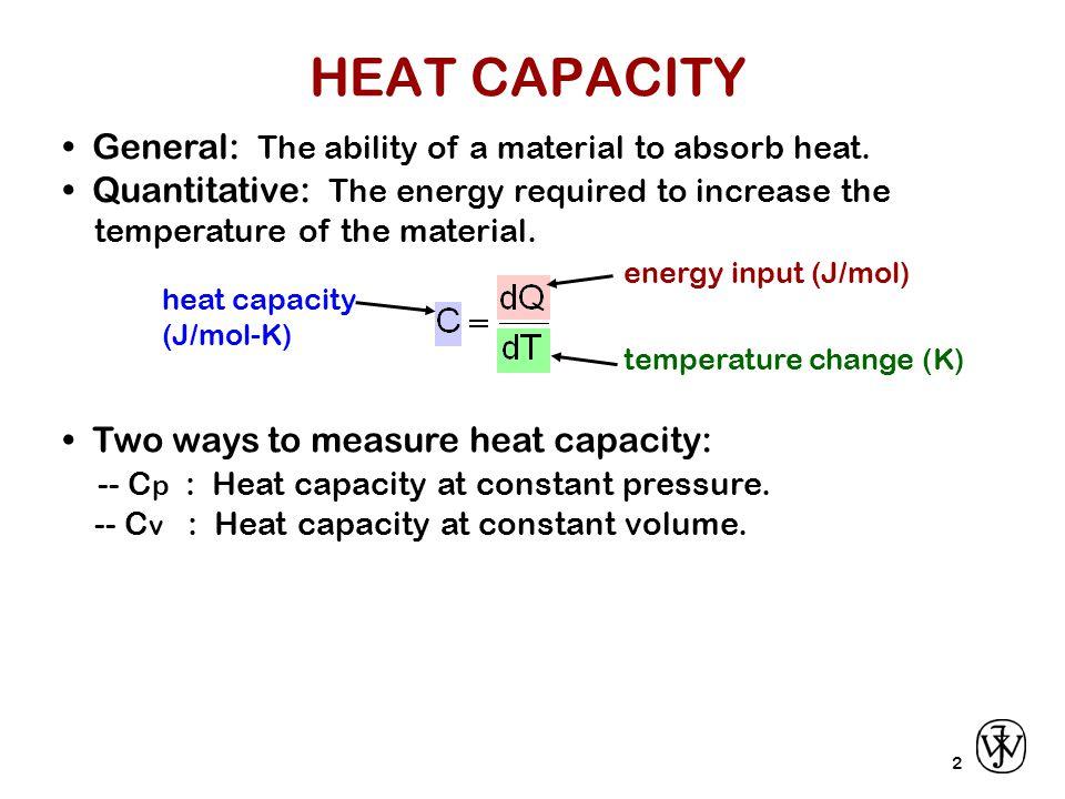 3 Heat capacity...