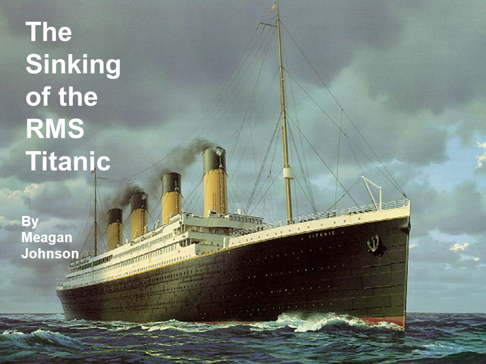 Forecasting  There is no way to forecast hitting an iceberg.
