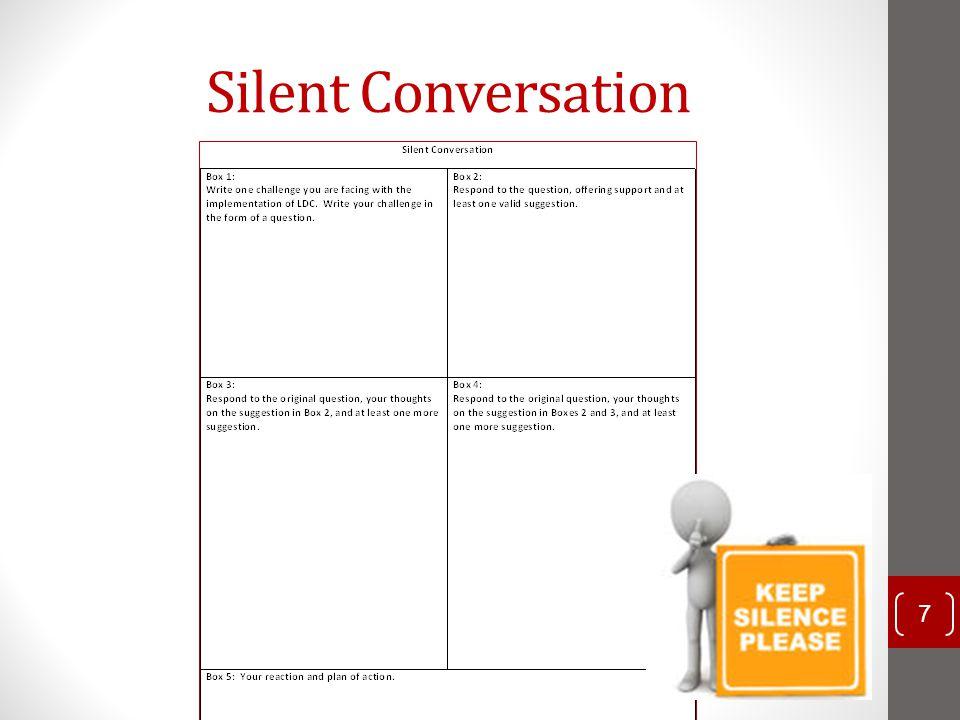 Silent Conversation 7