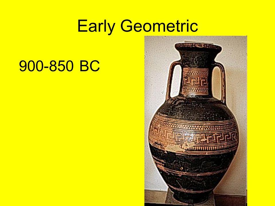 Early Geometric 900-850 BC