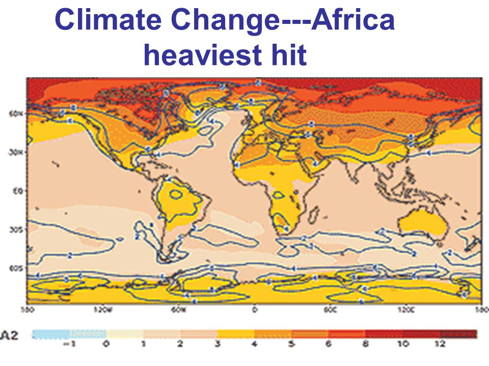 Climate Change---Africa heaviest hit