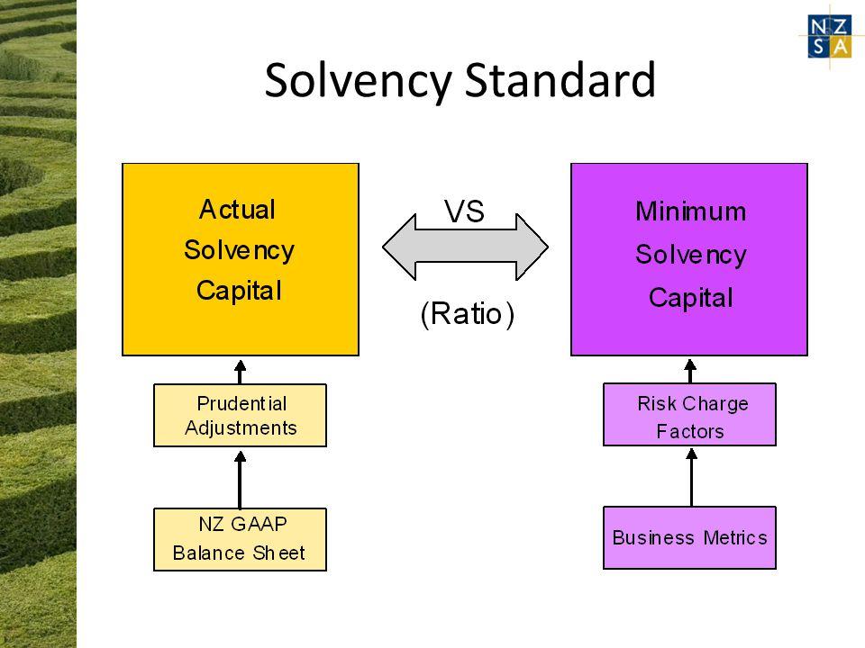 Solvency Standard