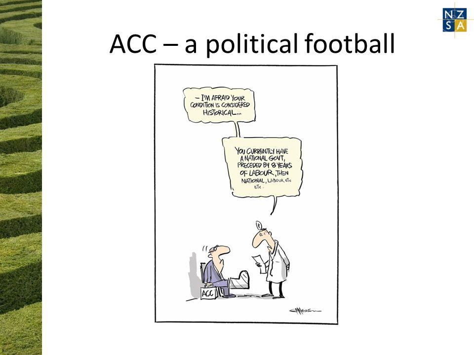 ACC – a political football
