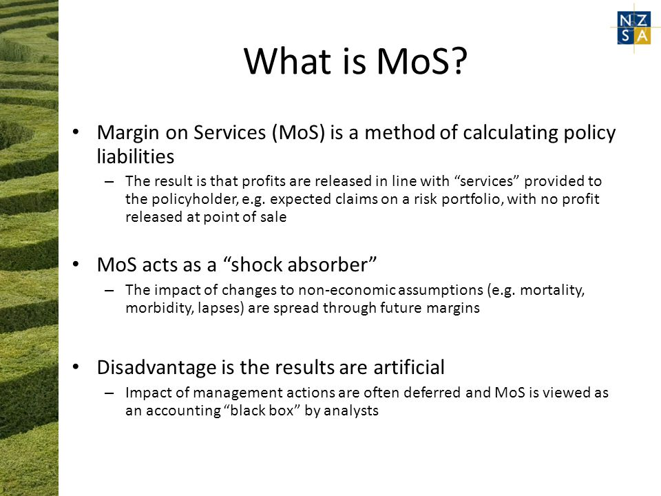 What is MoS.