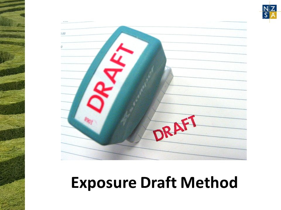 Exposure Draft Method