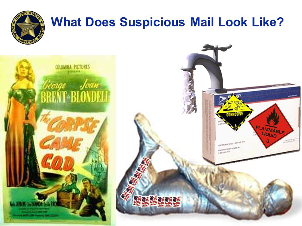 What Does Suspicious Mail Look Like