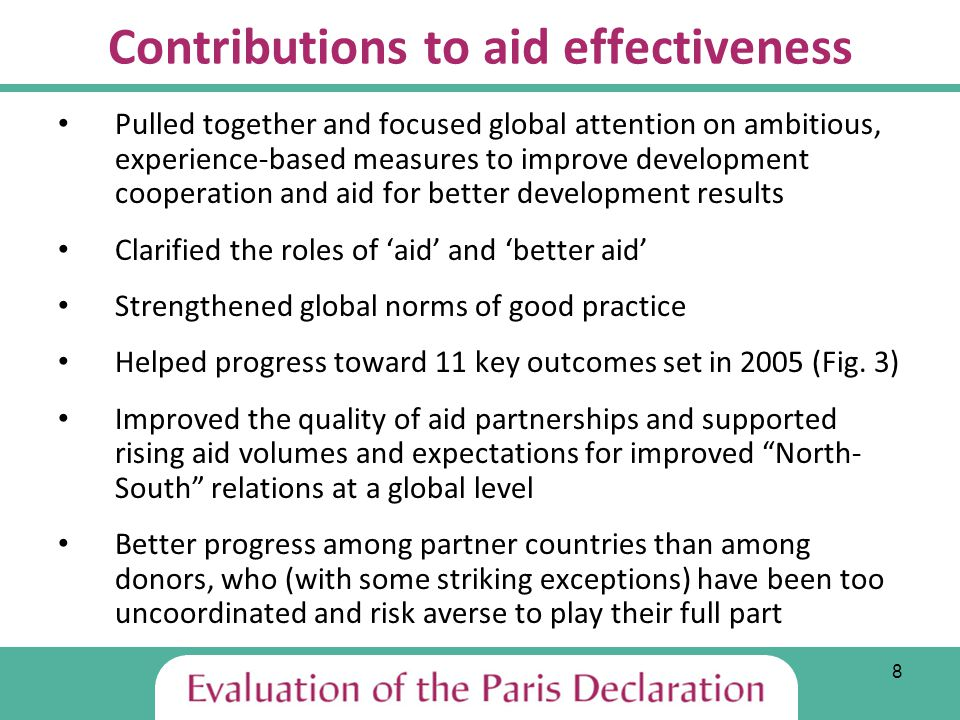 19 Main Recommendations I A.For decision-makers in both partner and donor countries and agencies (at Busan and beyond): 1.
