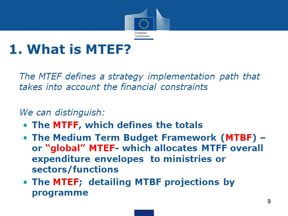 1.What is MTEF.