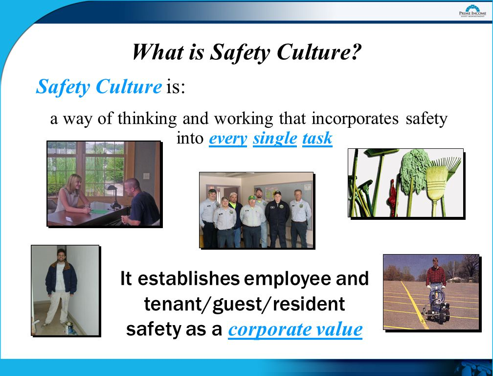 What is Safety Culture.