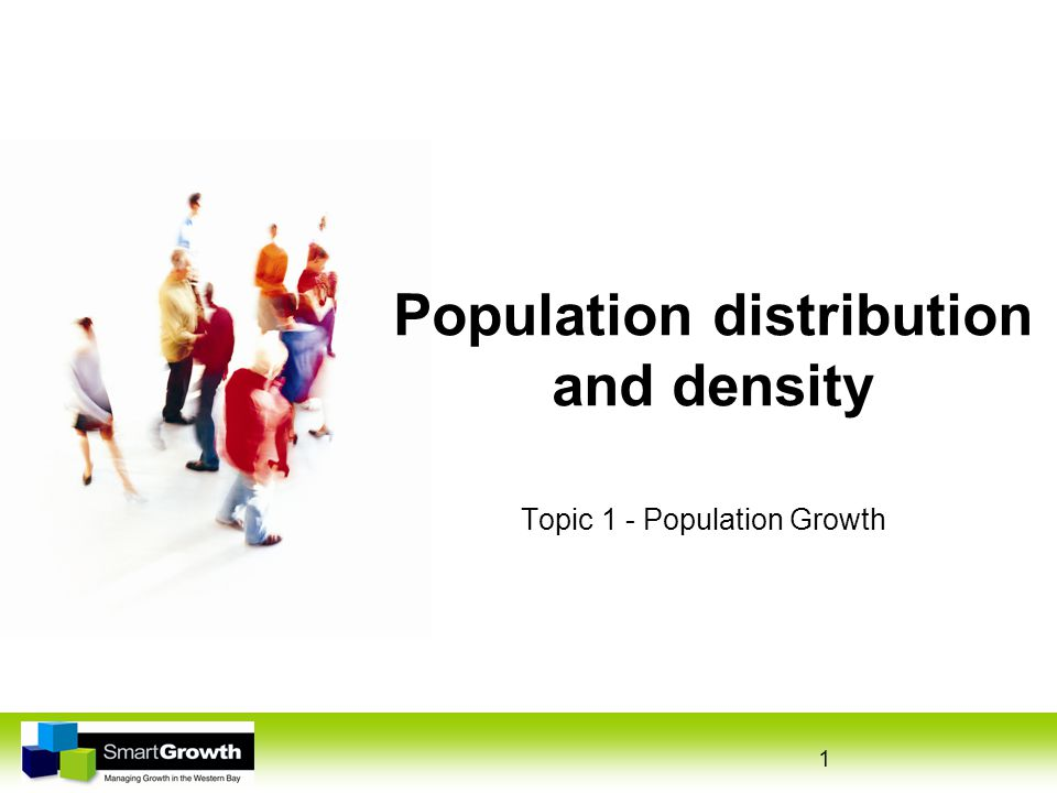 2 Population distribution Pattern of where people live Sparsely populated = few people Densely populated = many people