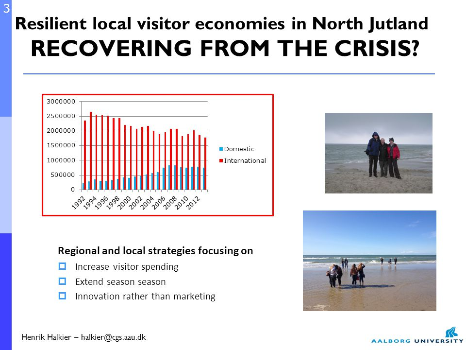 Resilient local visitor economies in North Jutland RECOVERING FROM THE CRISIS.