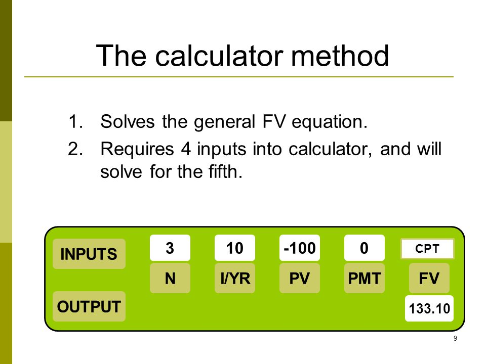 10 Multi-period, Find PV Find the present value of $6,000 that occurs at t = 6.