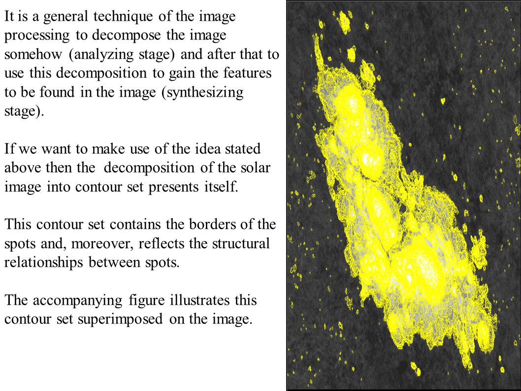 The algorithm to find uneven regions in the image: - A grid is superimposed on image I subtract.