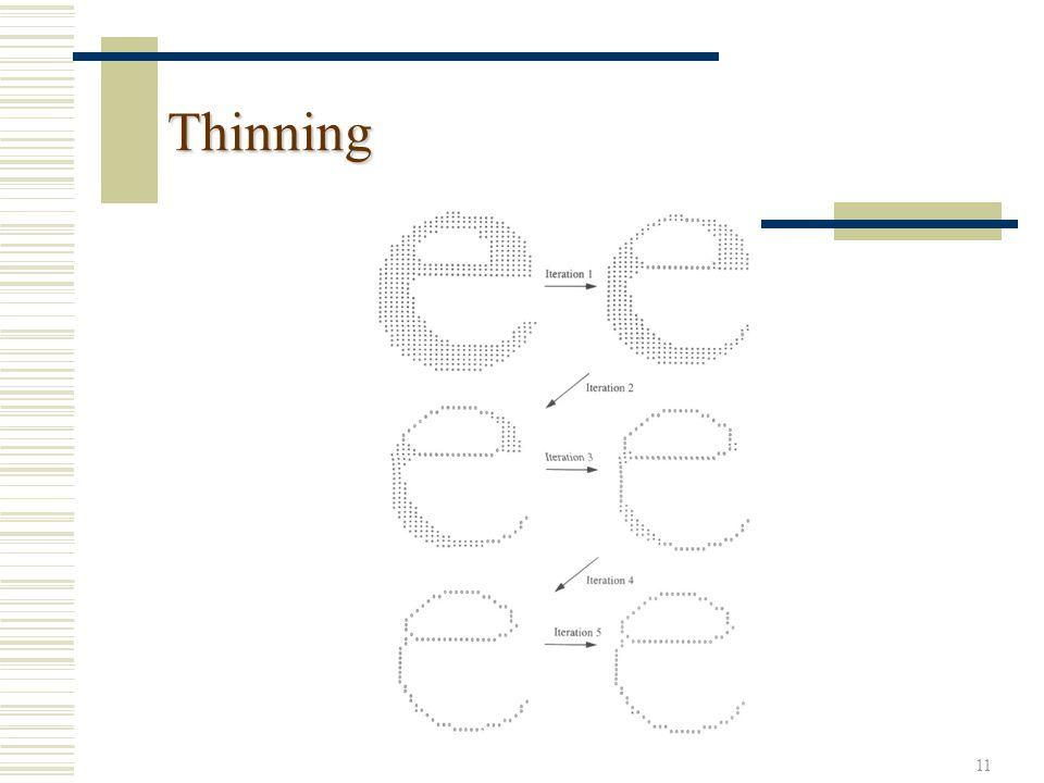11 Thinning