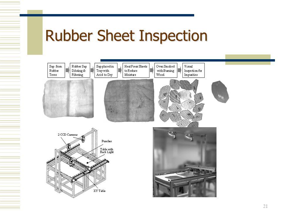 21 Rubber Sheet Inspection