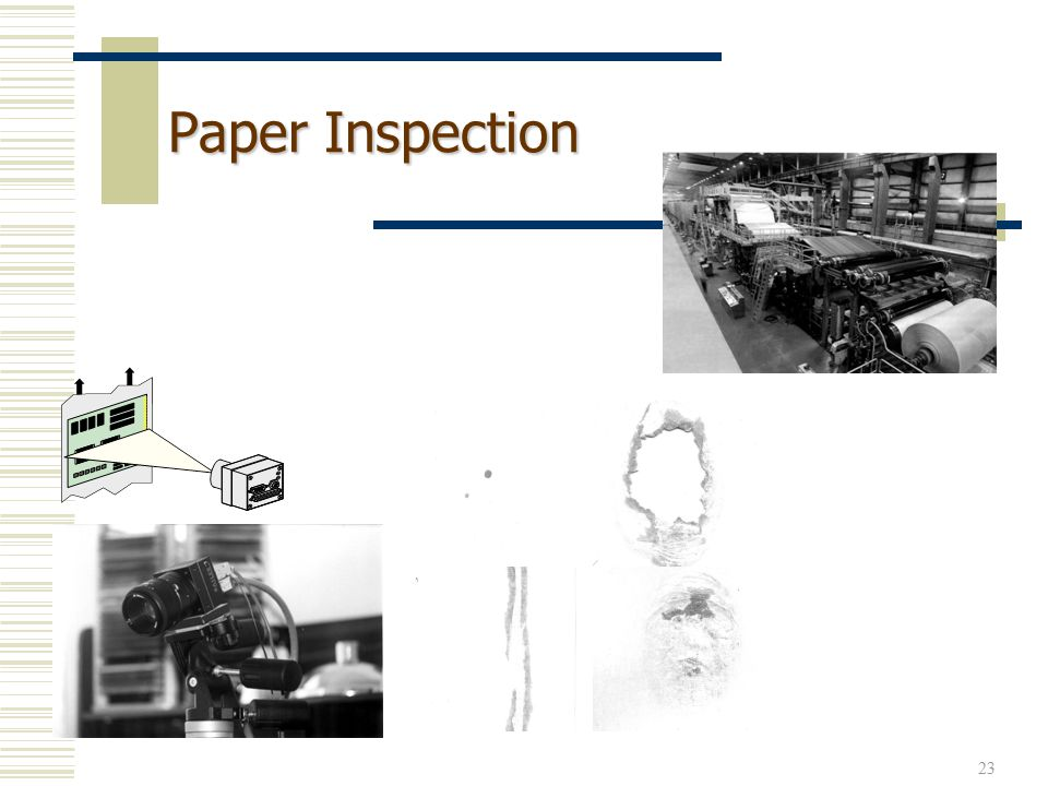23 Paper Inspection