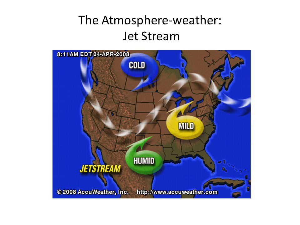 The Atmosphere-weather: Jet Stream