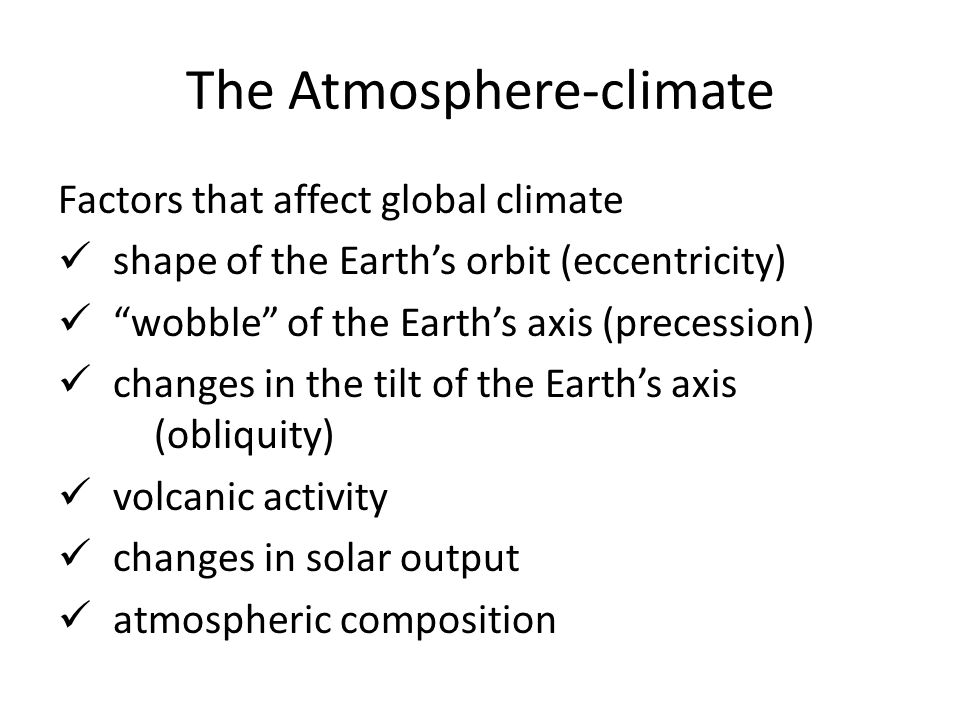 The Atmosphere-weather: temperature Measure of kinetic energy Differences produced by uneven heating of Earth's surface Maps of areas with the same temperatures are called isotherms