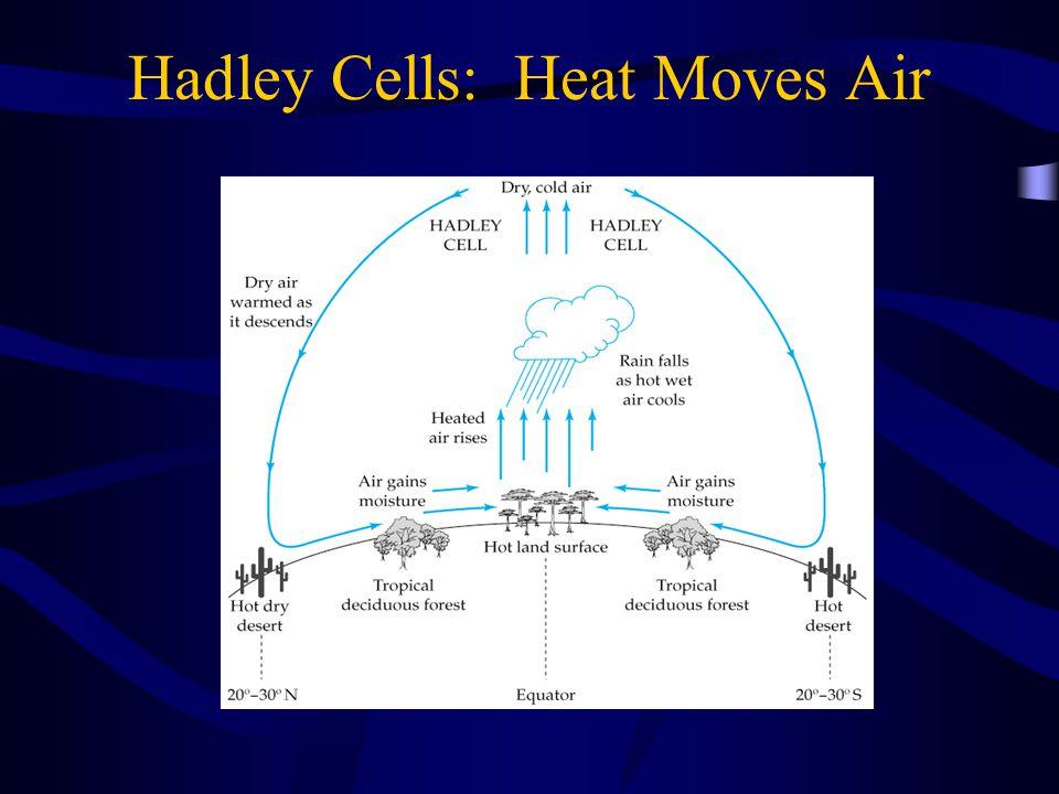 Hadley Cells: Heat Moves Air