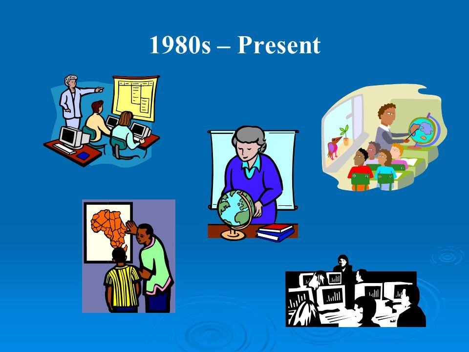 1980s – Present
