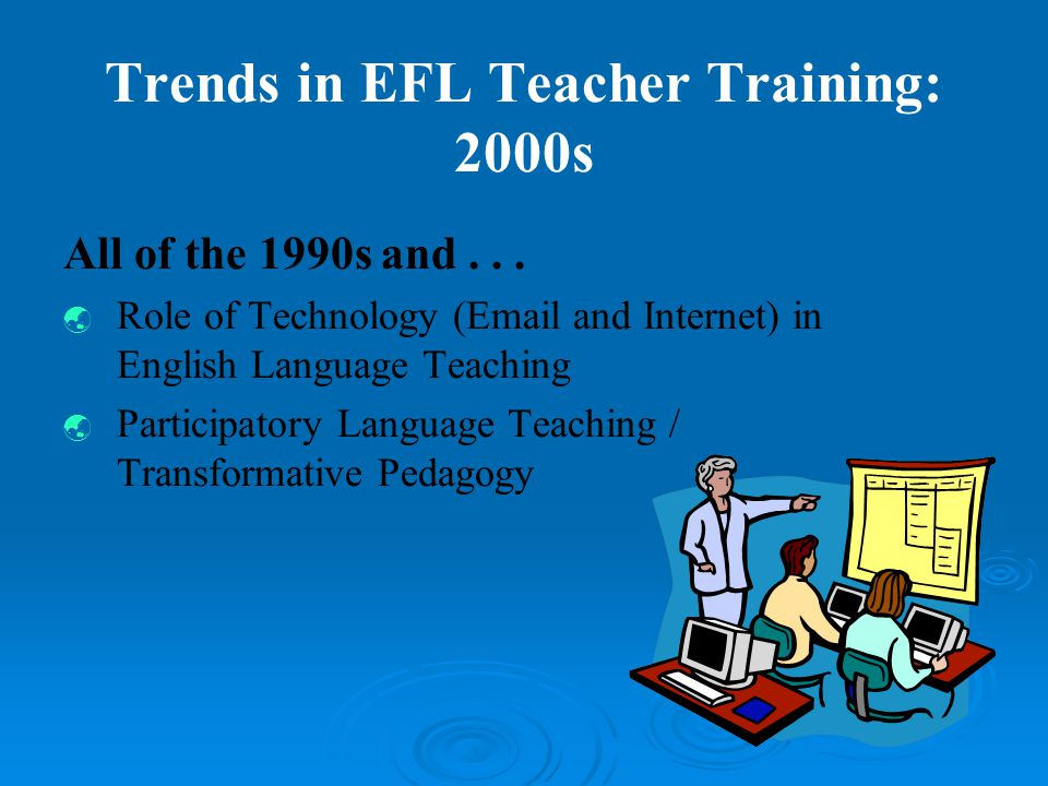 Being an ELT Professional: How Many of You Have....