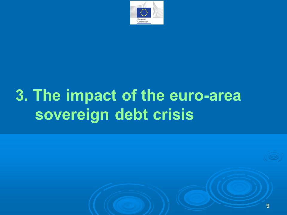3. The impact of the euro-area sovereign debt crisis 9