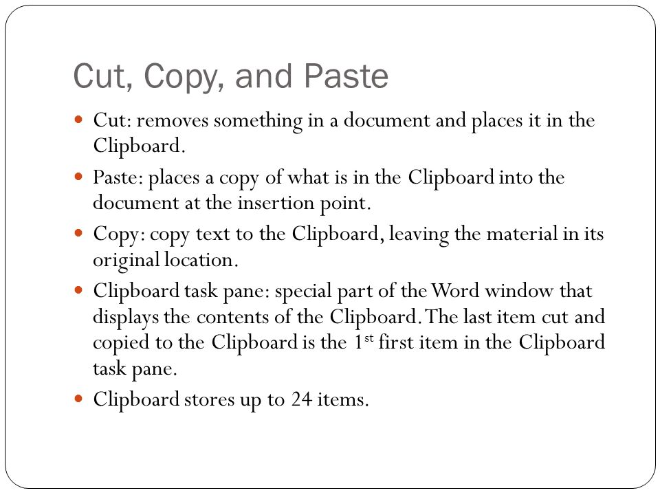Find and Replace When you are working in a long document, the quickest & easiest way to locate text is to use the Find & Replace command.