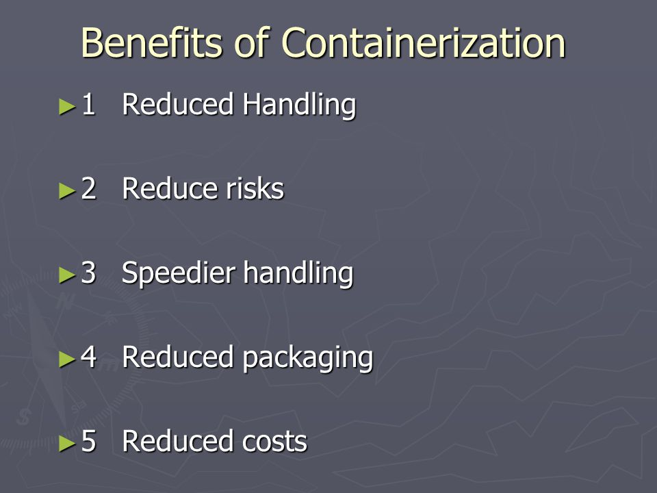 Packing Requirements ► 1Containment ► 2Protection ► 3Ease of handling