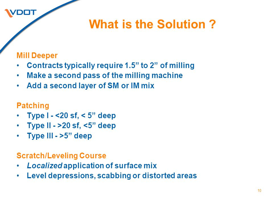 10 What is the Solution .
