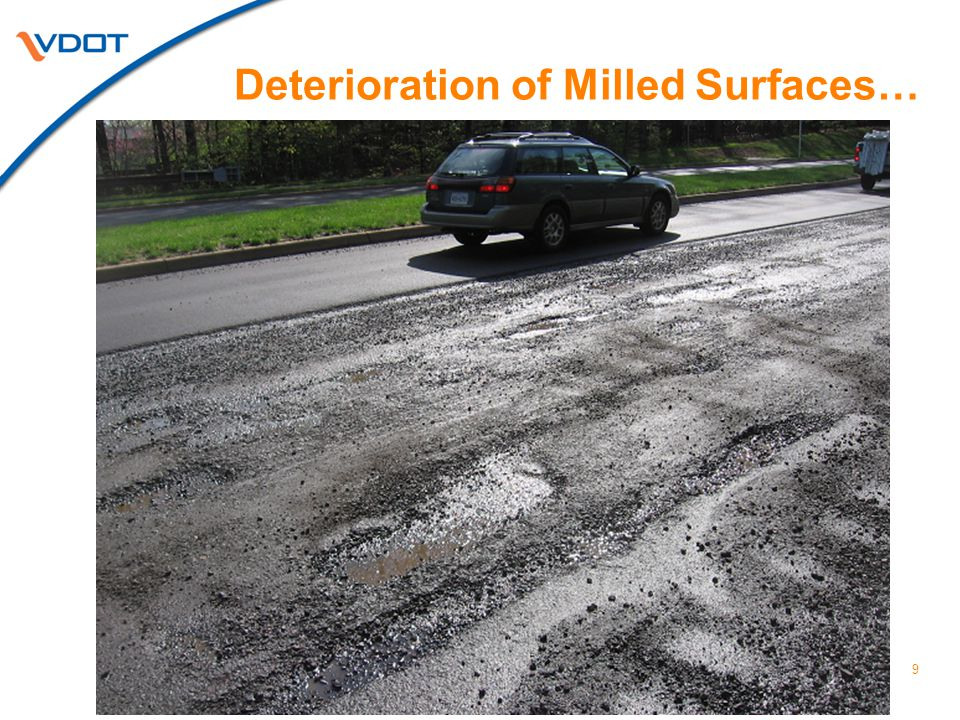 9 Deterioration of Milled Surfaces…