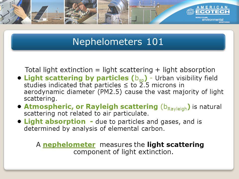 Inverse Megameter (Mm- 1 ) is the direct measurement unit for visibility impairment data.