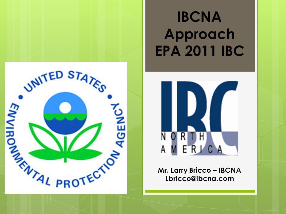 EPA 2011 IBC MUST HAVE MASSIVE STOCK