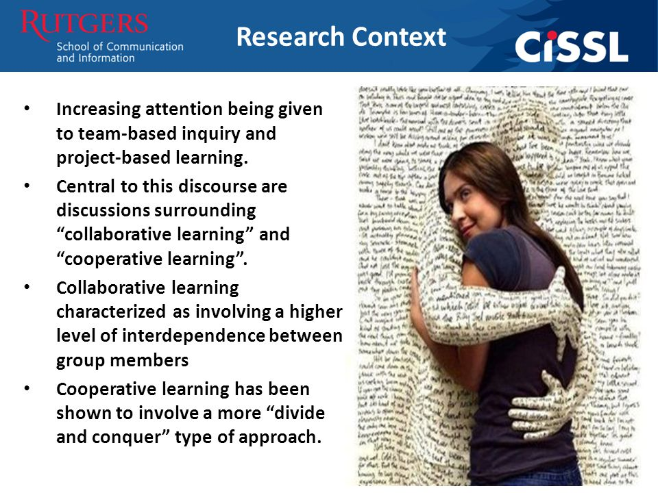 Increasing attention being given to team-based inquiry and project-based learning.