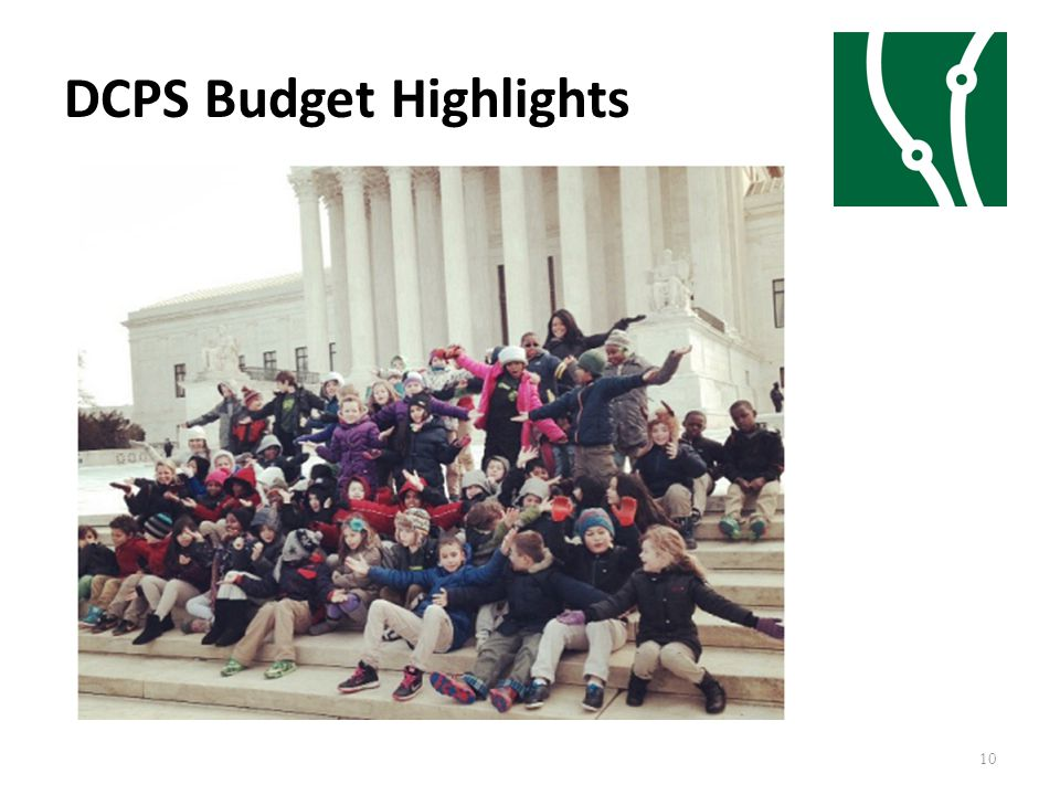 DCPS Budget Highlights 10