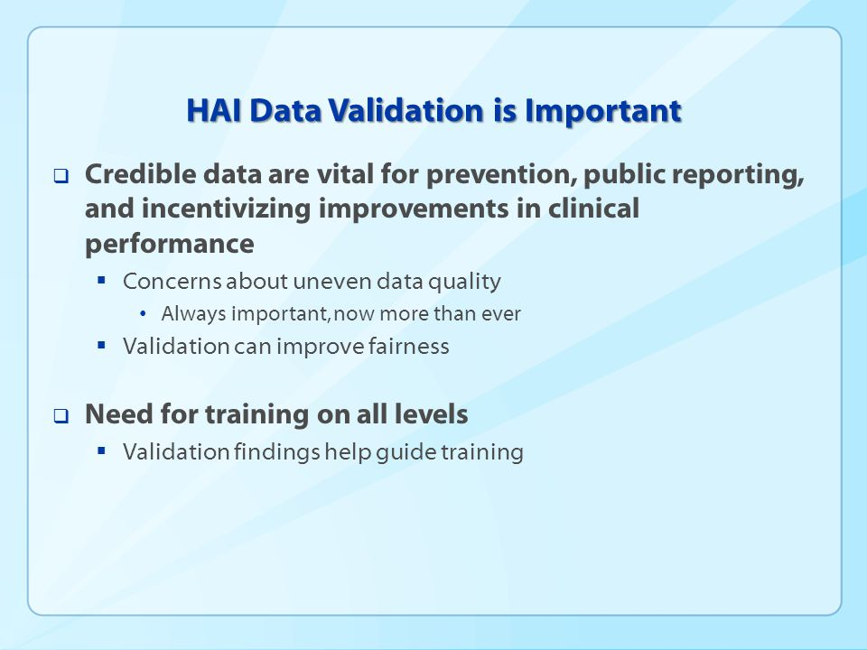 What Do We Mean by Validation?