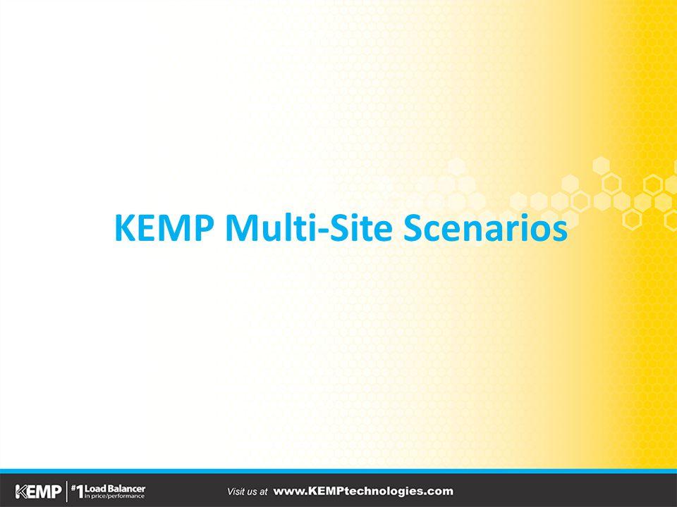 KEMP Multi-Site Scenarios