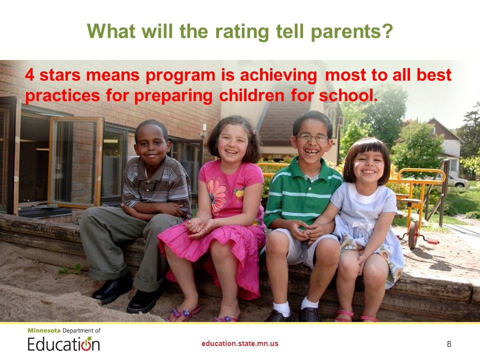 What will the rating tell parents.