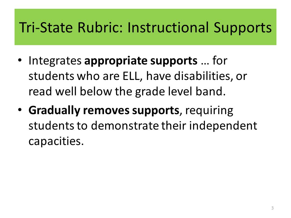 Embedded Supports Vocabulary Instruction Reading Complex Text Additional Supports 4