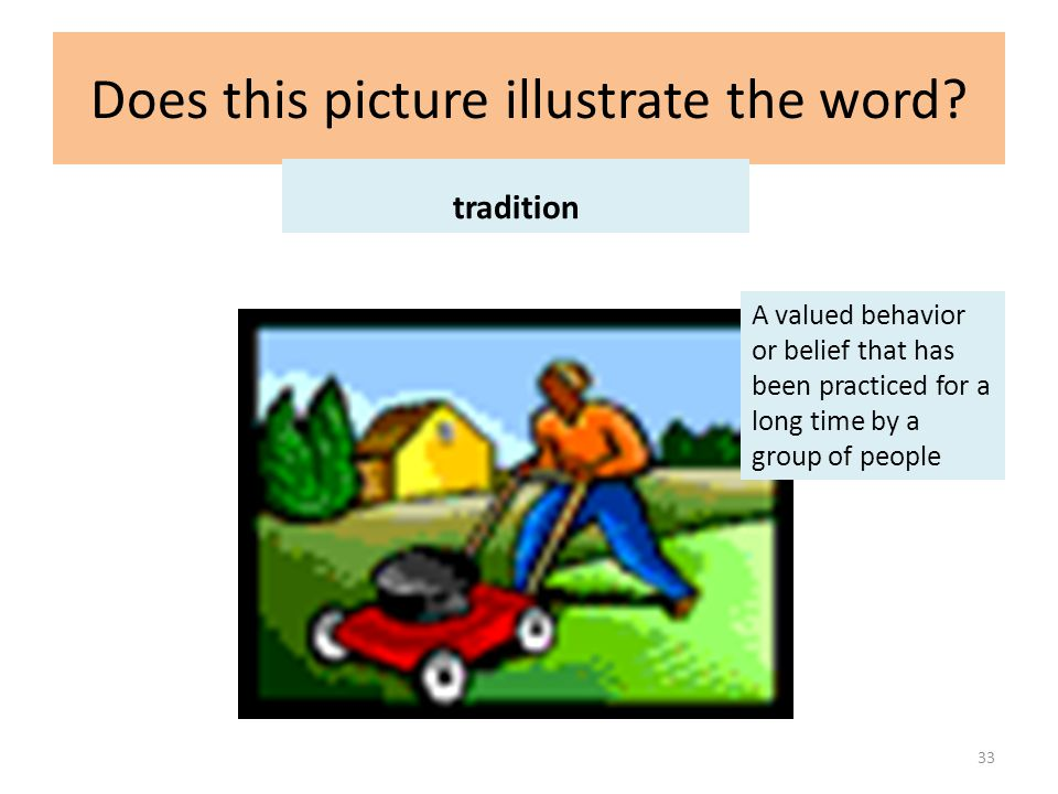 Does this picture illustrate the word.