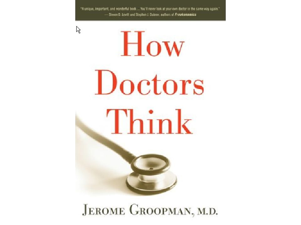 Physician Error  10 to 15 percent of all patients either suffer from a delay in making the correct diagnosis or die before the correct diagnosis is made  The failure to diagnose reflects unsuspected errors made while trying to understand a patient s condition Groopman, NYReview of Books, Nov 5, 2009