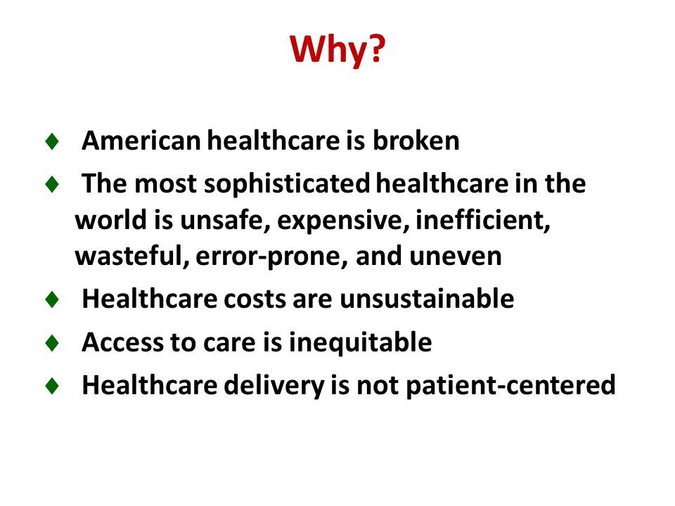 US Healthcare. American medicine is on a collision course with the American economy.