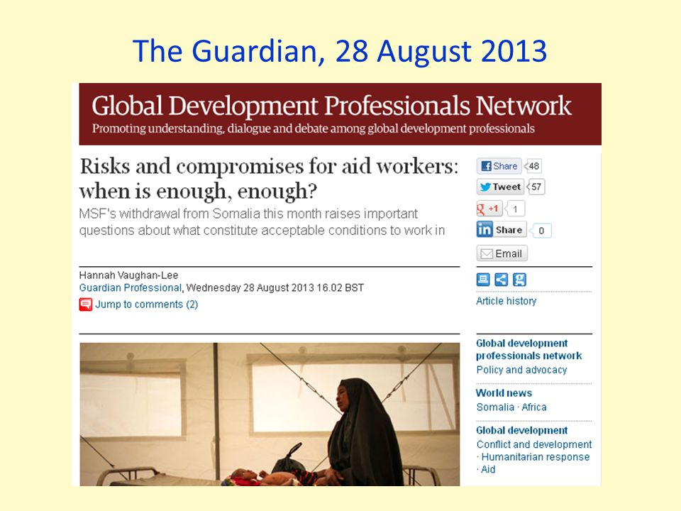 The Guardian, 28 August 2013