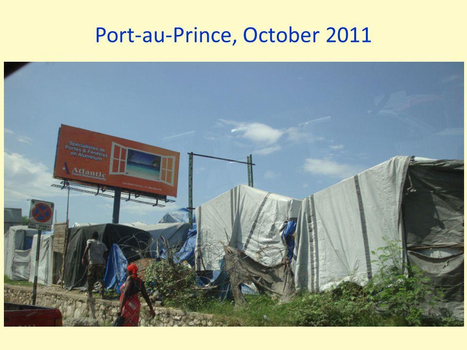 Port-au-Prince, October 2011