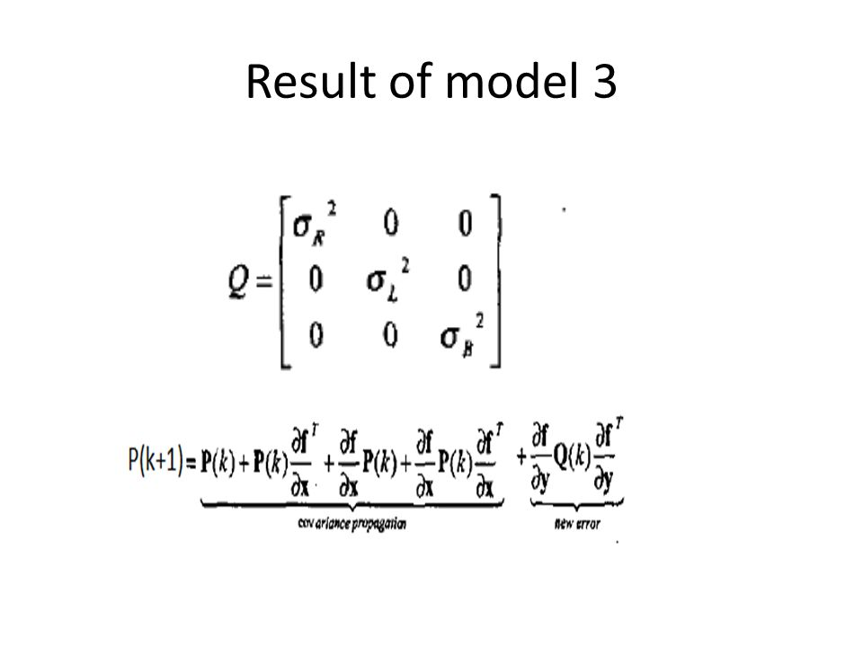 Result of model 3
